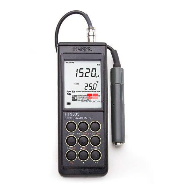 Máy đo độ mặn kỹ thuật số