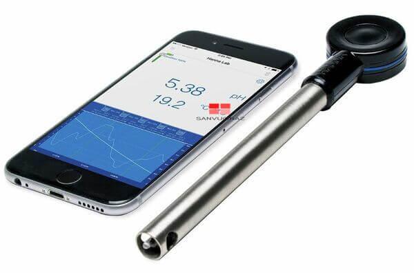 Máy đo pH không dây