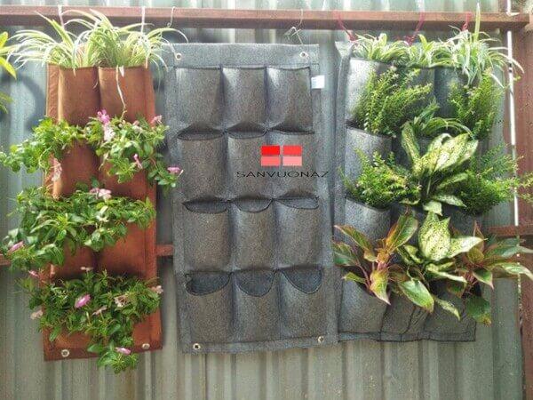 Nên chọn túi vải trồng cây làm từ xơ PP/ PE