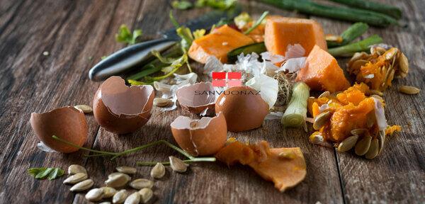 Rau, củ, quả, vỏ trứng,... đều có thể ủ thành phân hữu cơ