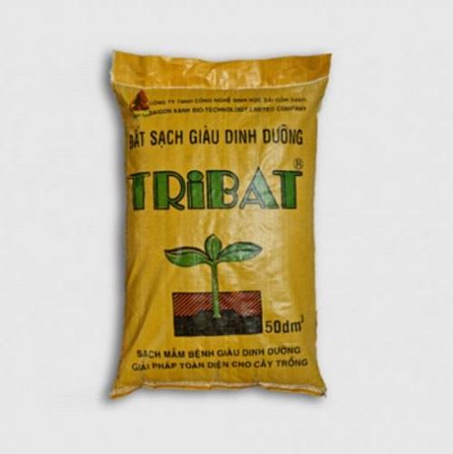 Đất tribat có giá khoảng 30.000 - 65.000 đồng/ túi 12kg