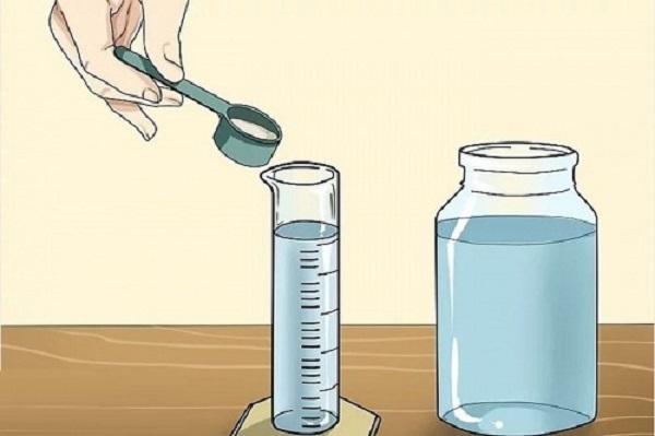Pha chế dung dịch thủy canh cần được định lượng chính xác